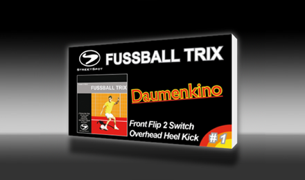 Fussball-Tricks-Daumenkinos